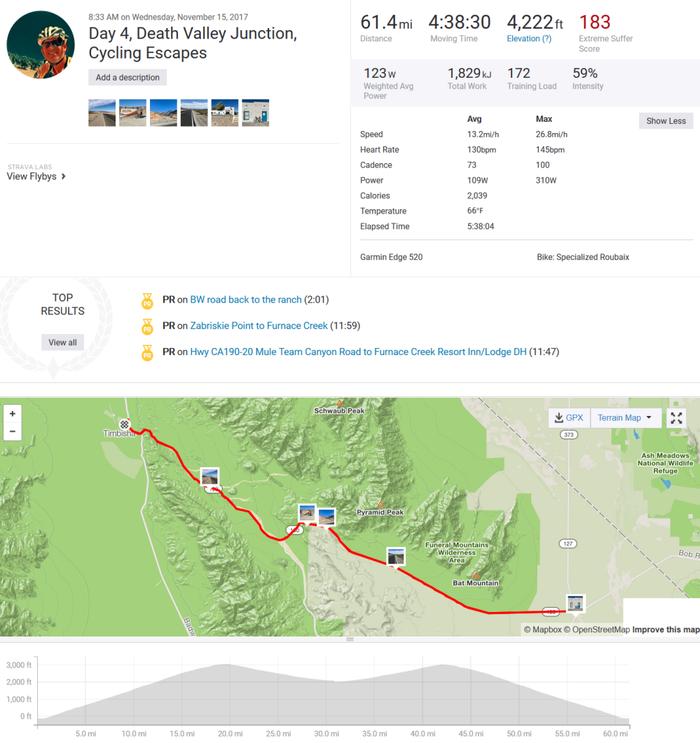 2017-11-16 06_13_44-Day 4, Death Valley Junction, Cycling Escapes _ Ride _ Strava
