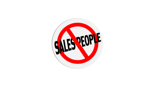 No-Salespeople